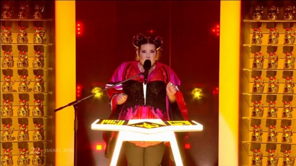 Israel, pela voz da contora Netta, venceu a Eurovisão