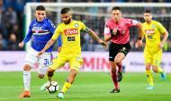 Sampdoria-Nápoles