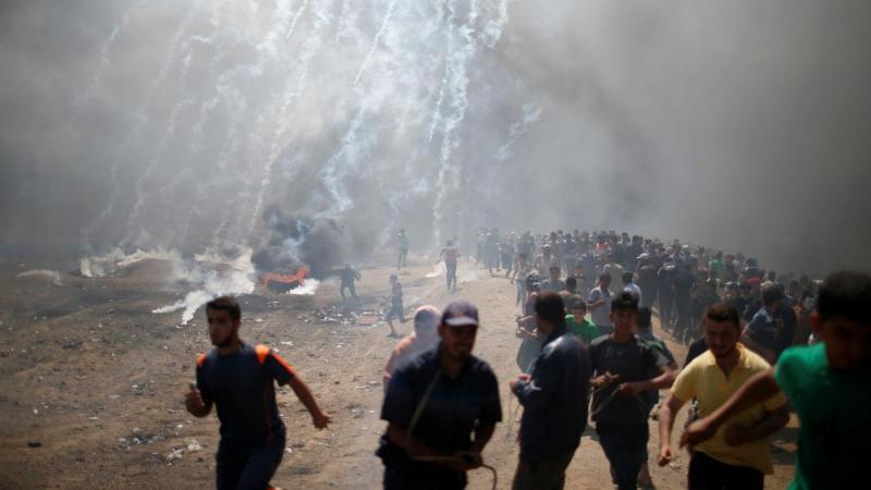 Protestos em Gaza