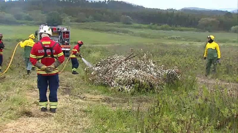 GNR anda pelo país a ensinar como fazer queimadas