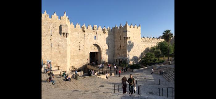 Porta de Damasco em Jerusalém