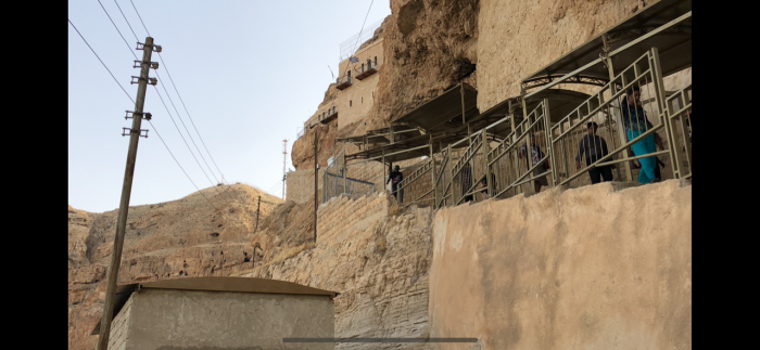 Monte das Tentações em Jericó