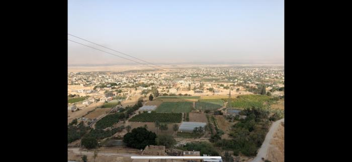 Vista sobre Jericó desde o Monte das Tentações