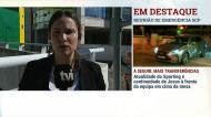 Coentrão chegou a Alvalade para reunir com Bruno de Carvalho