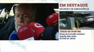 Jaime Marta Soares comenta crise no Sporting