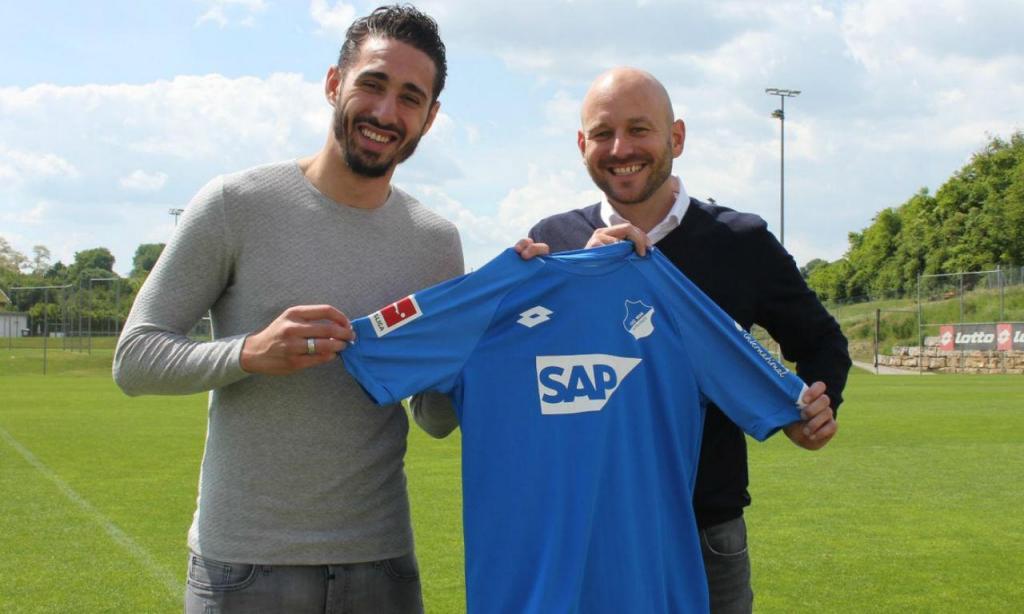 Ishak Belfodil é reforço do Hoffenheim