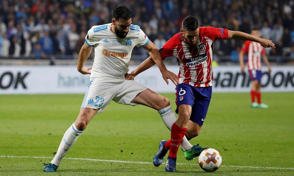Marselha-Atlético Madrid