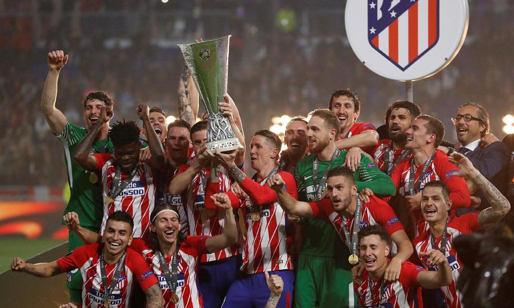Atlético Madrid vence Liga Europa