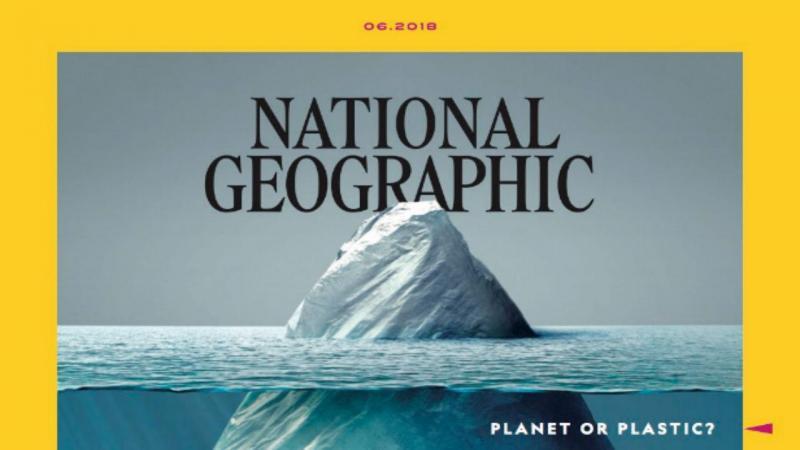 Capa do mês de junho da National Geographic
