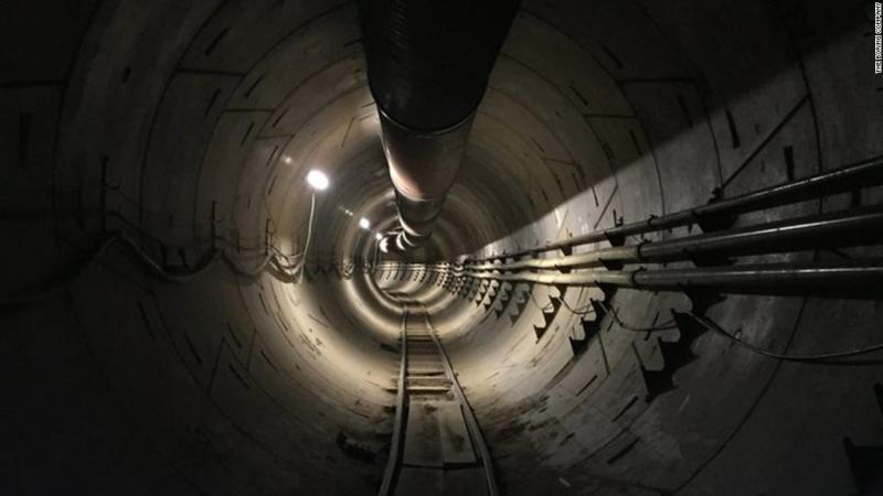 Túneis de alta velocidade em Los Angeles