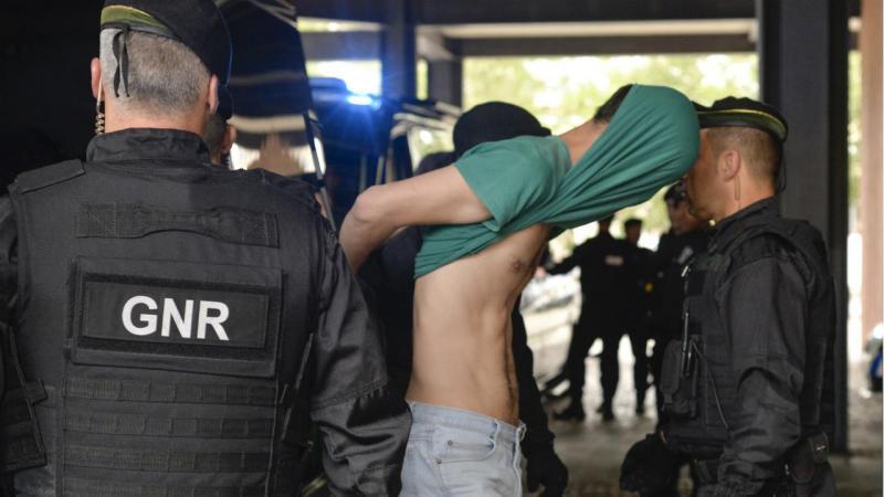 Sporting - suspeitos de agressões na Academia de Alcochete