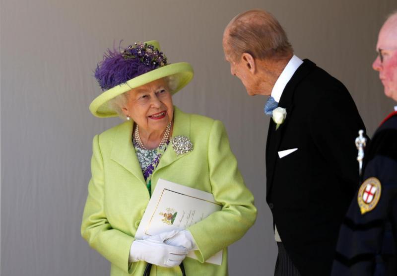 Rainha Isabel II e o Duque de Edimburgo