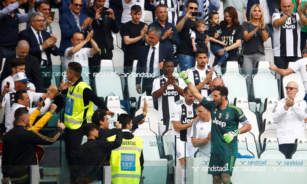 Buffon despede-se da Juventus