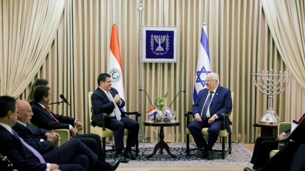 Paraguai inaugura nova embaixada em Jerusalém