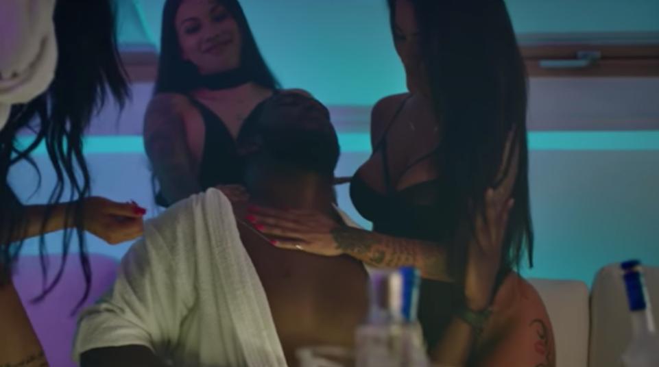 Ousada, Sofia Buinho  protagoniza videoclipe de C4 Pedro