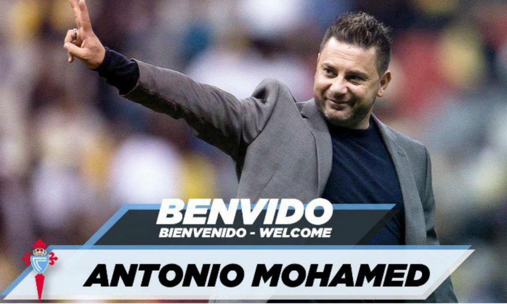 Antonio Mohamed é o novo treinador do Celta