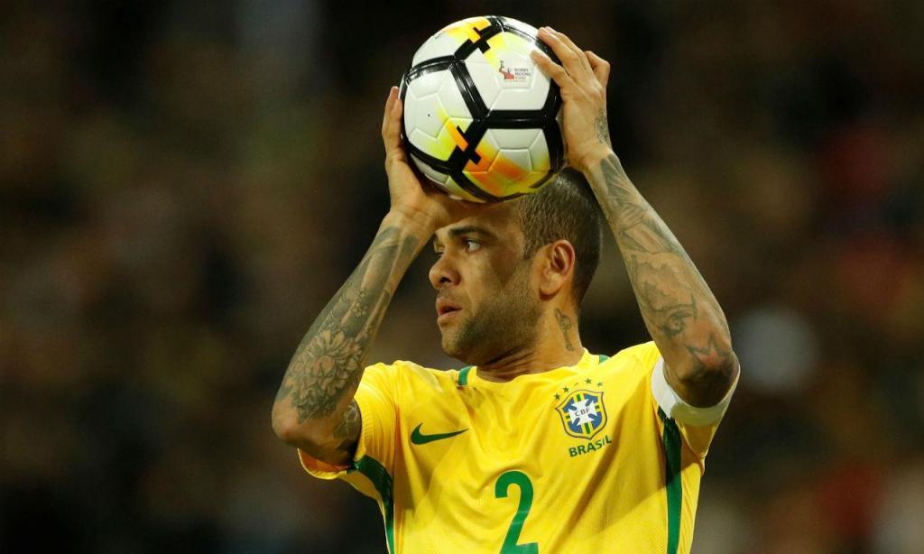 Dani Alves, Brasil (Reuters)