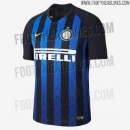 Equipamento do Inter Milão para 2018/19 (foto Footy Headlines)