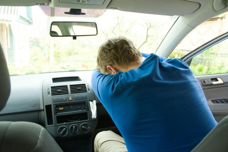 Condutor cansado