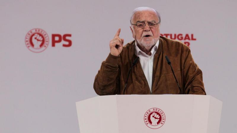 Manuel Alegre no 22.º Congresso do PS