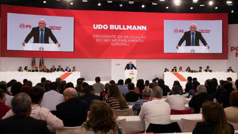 Udo Bullmann no 22.º Congresso do PS