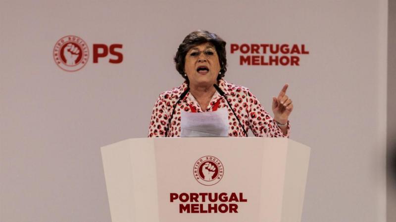 Ana Gomes no 22.º Congresso do PS