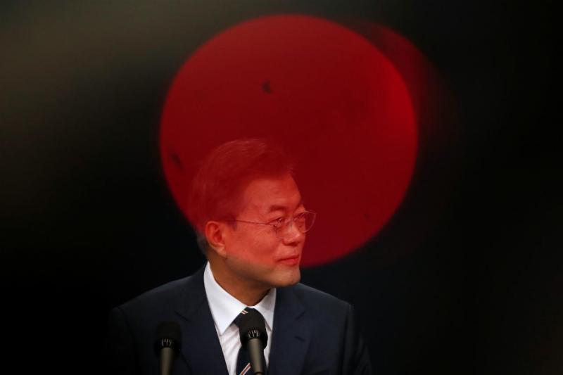 Moon Jae-in - presidente da Coreia do Sul