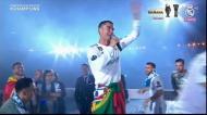 A coroação de Ronaldo no Bernabéu: «Fica Cristiano!»