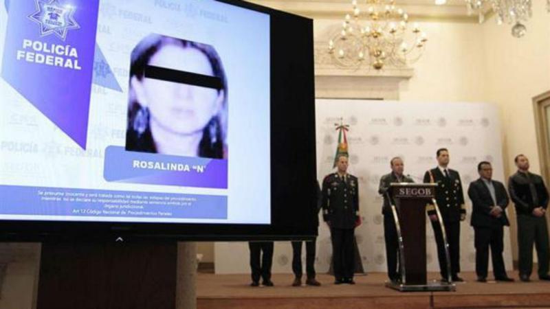 Polícia mexicana anuncia detenção de Rosalinda Gonzalez Valencia