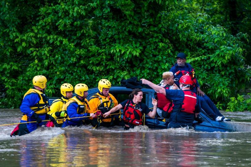 Inundações no Maryland, EUA