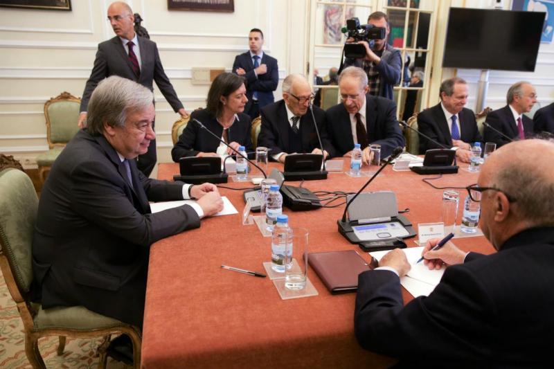 Conselho de Estado com António Guterres