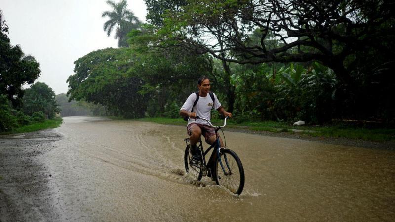 Inundações em Cuba