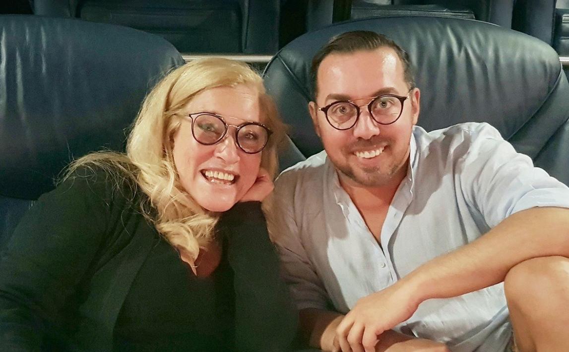 Teresa Guilherme e Flávio Furtado