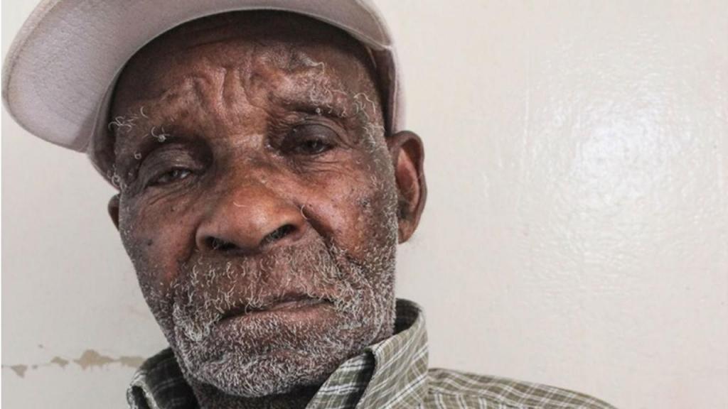 Fredie Blom, o homem mais velho do mundo