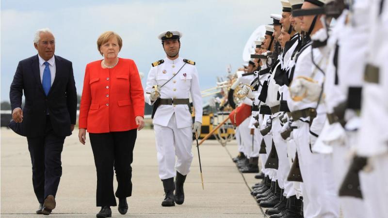 Angela Merkel em Portugal