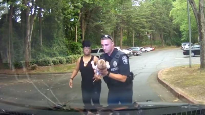 Polícia salva bebé nos Estados Unidos