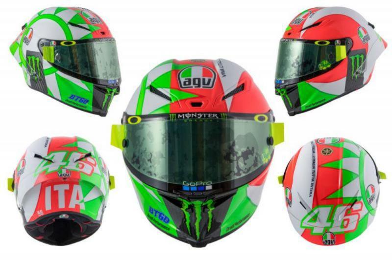 Valentino Rossi capacete Mugello