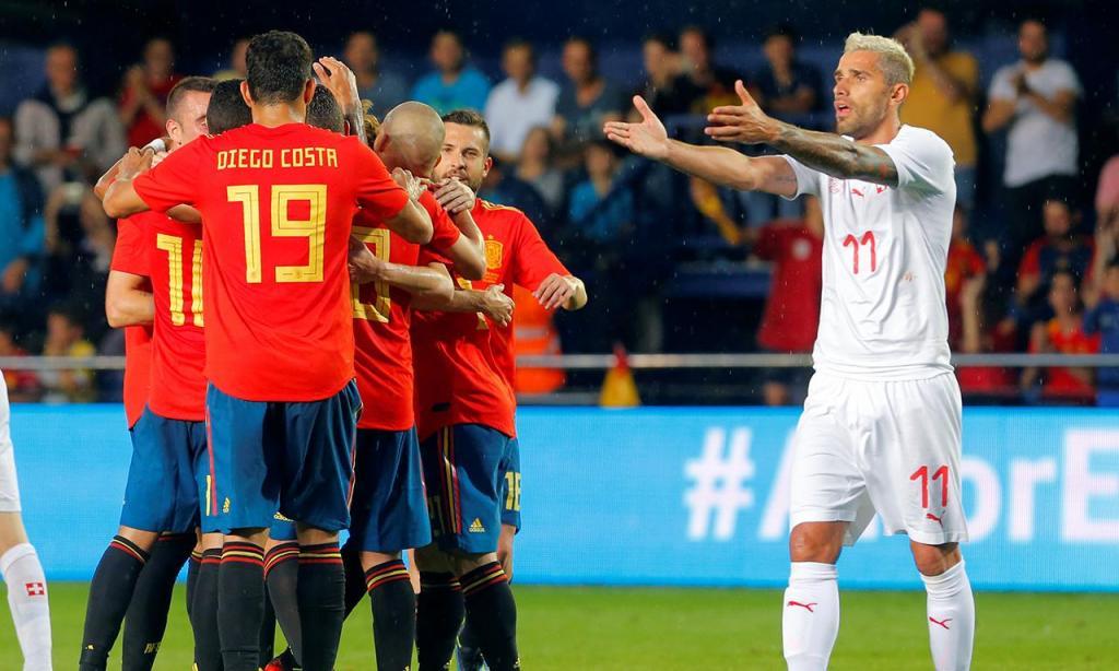 Espanha-Suiça