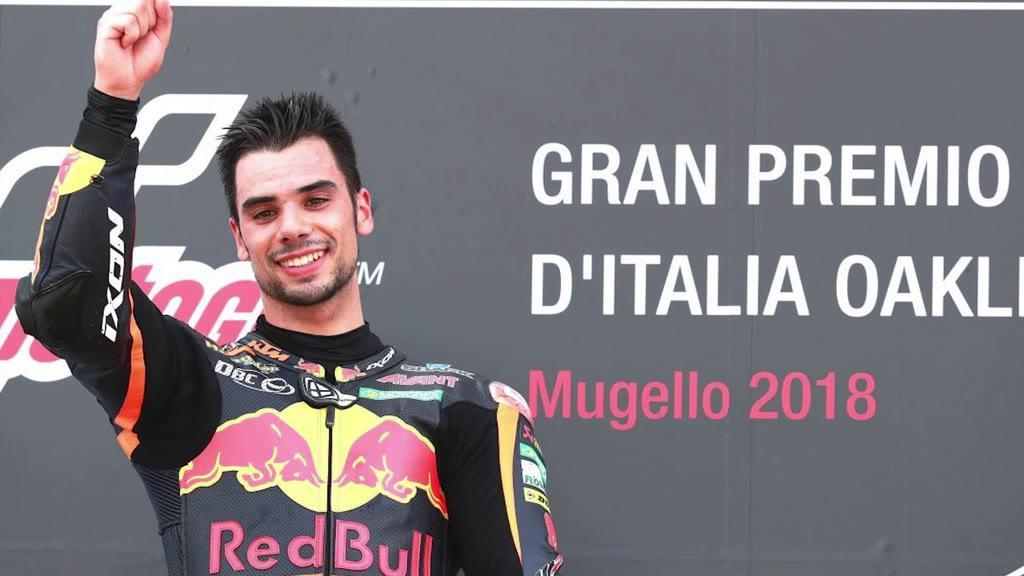 A euforia depois da vitória: Miguel Oliveira conquista Grande Prémio de Itália