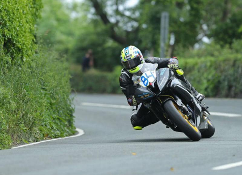 Adam Lyon (imagem Isle of Man TT Races)