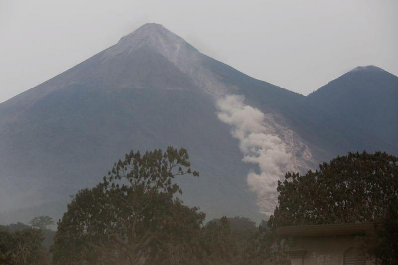 Vulcão Fuego, na Guatemala