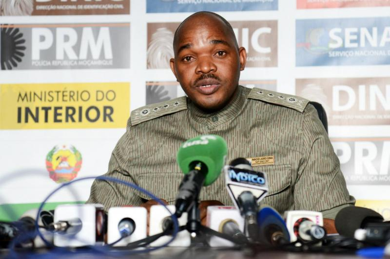 Inácio Dina, porta-voz da Polícia Moçambicana