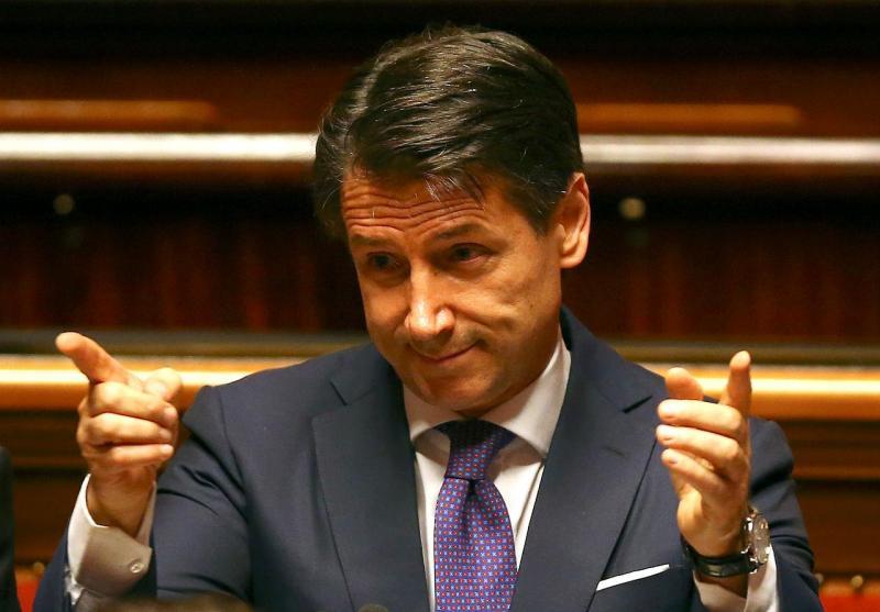 Giuseppe Conte - Itália (primeiro-ministro indigitado)