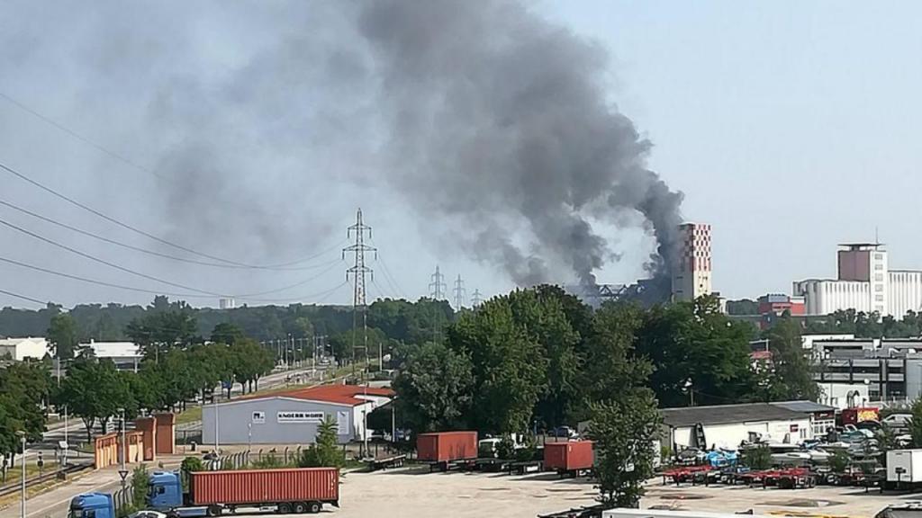 Explosão em Estrasburgo