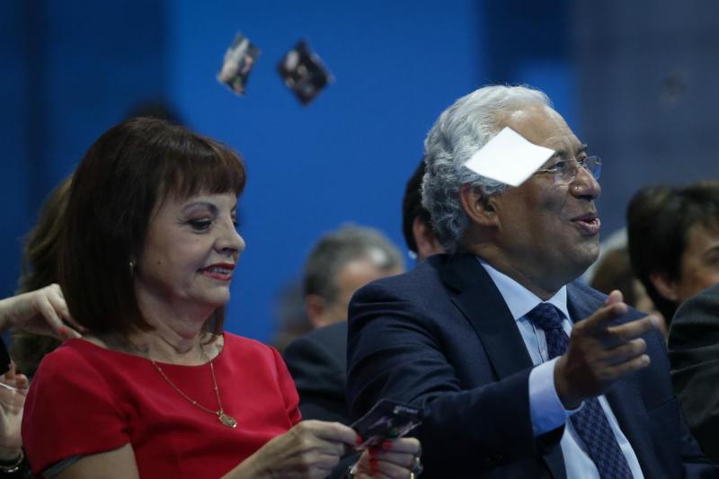 Maria Manuel Leitão Marques e António Costa