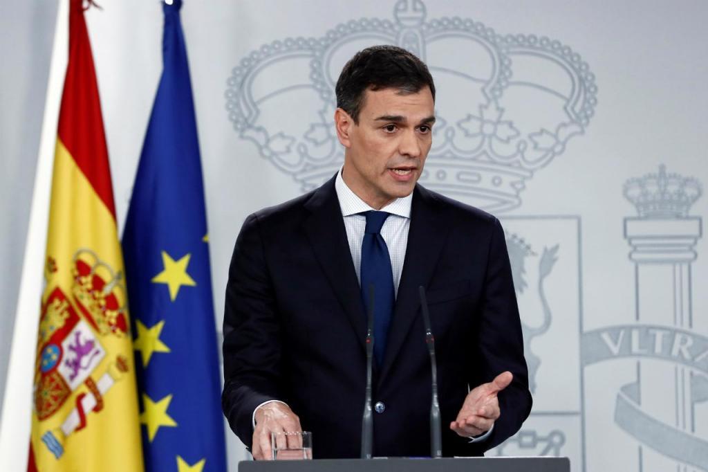 Pedro Sánchez - primeiro-ministro de Espanha