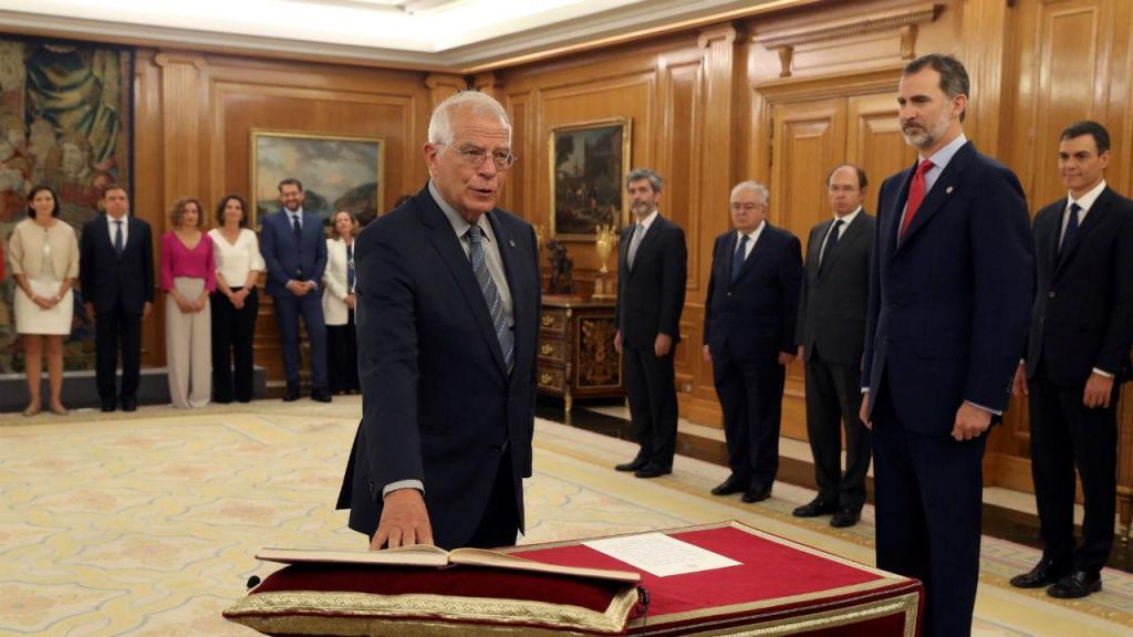 Josep Borrel, ministro dos Assuntos Exteriores, União Europeia e Cooperação