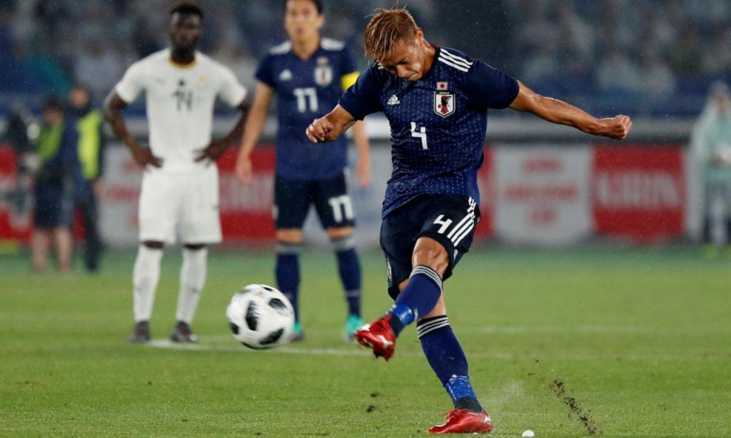 Keisuke Honda (Reuters)