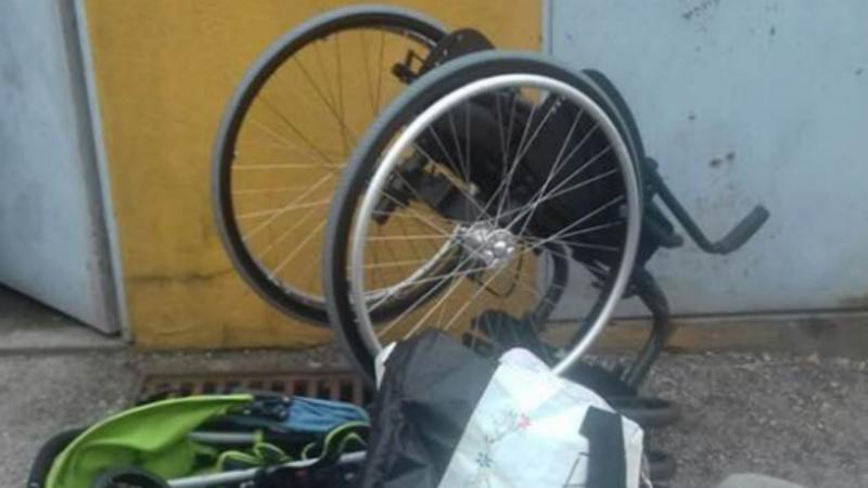 Assaltantes devolvem cadeira de rodas em Leça da Palmeira