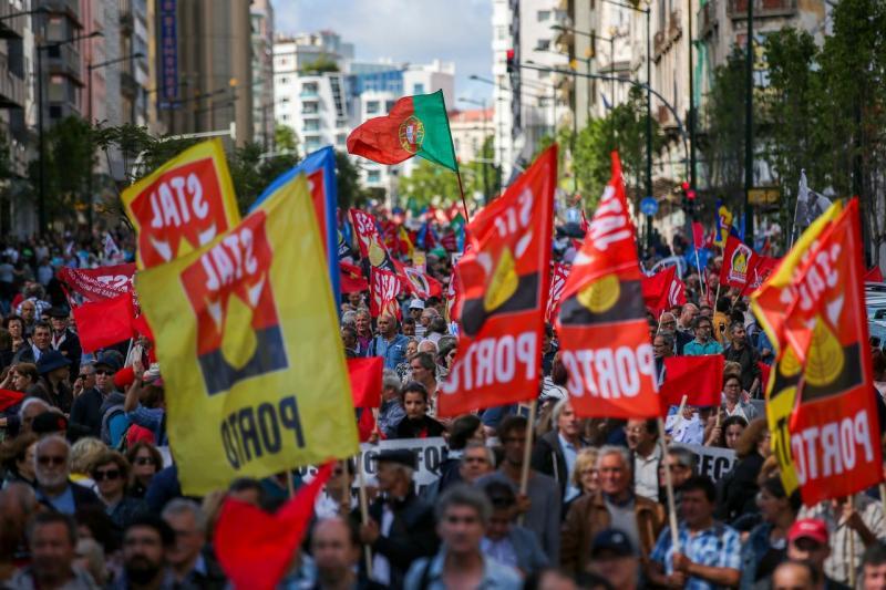 Protesto pela valorização do trabalho e dos trabalhadores e o aumento de salários